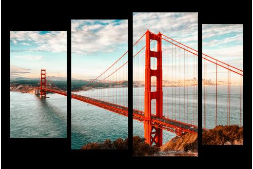 Модульная картина Мост Сан-франциско
