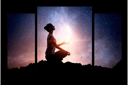 Модульная картина В гармонии со Вселенной